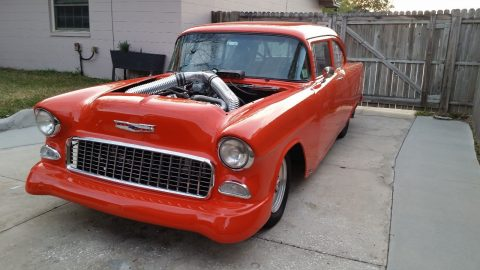 special features 1955 Chevrolet Bel Air/150/210 custom for sale