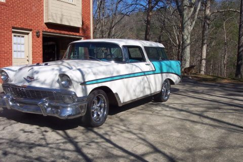 tuned engine 1956 Chevrolet Nomad custom for sale