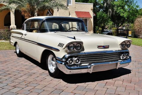Absolutely Immaculate 1958 Chevrolet Bel Air/150/210 Hardtop 348 Tri Power custom for sale