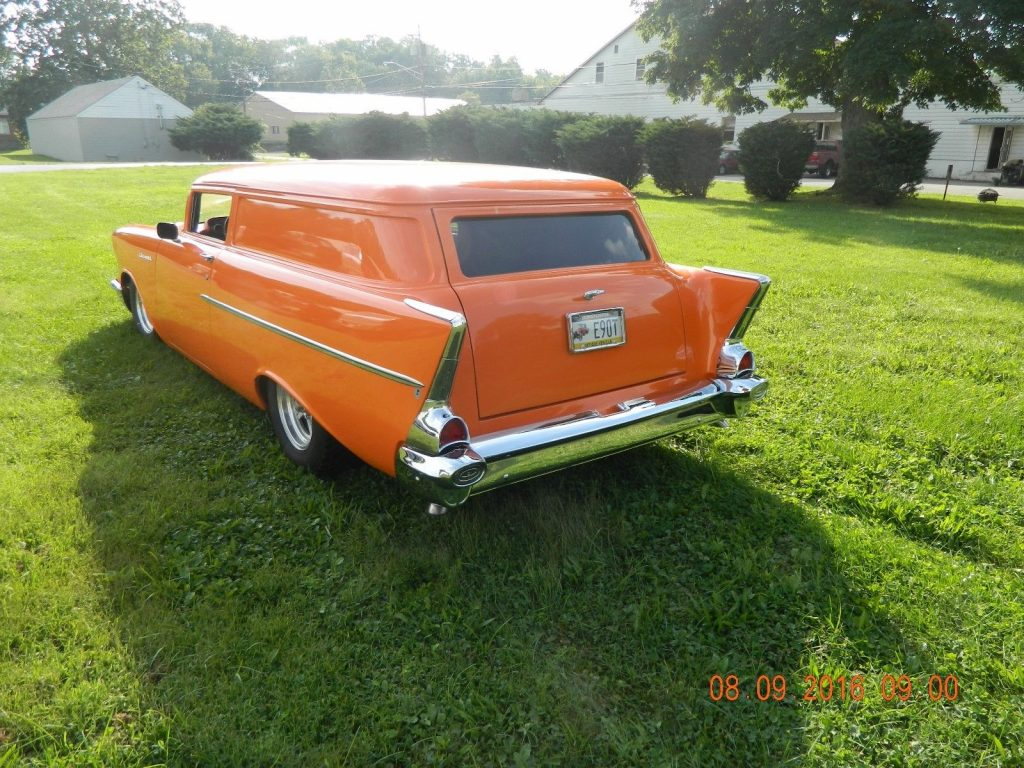 chopped 1957 Chevrolet Sedan DELIVERY custom