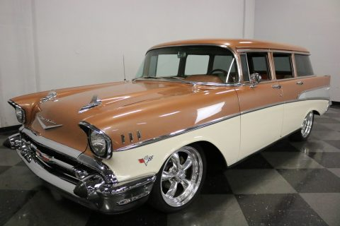 Corvette engine 1957 Chevrolet Bel Air/150/210 Wagon custom for sale