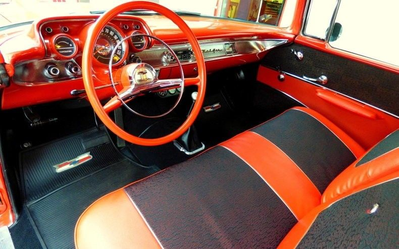 detailed 1957 Chevrolet Bel Air/150/210 custom