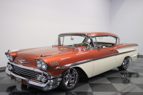 high end restomod 1958 Chevrolet Bel Air/150/210 custom for sale