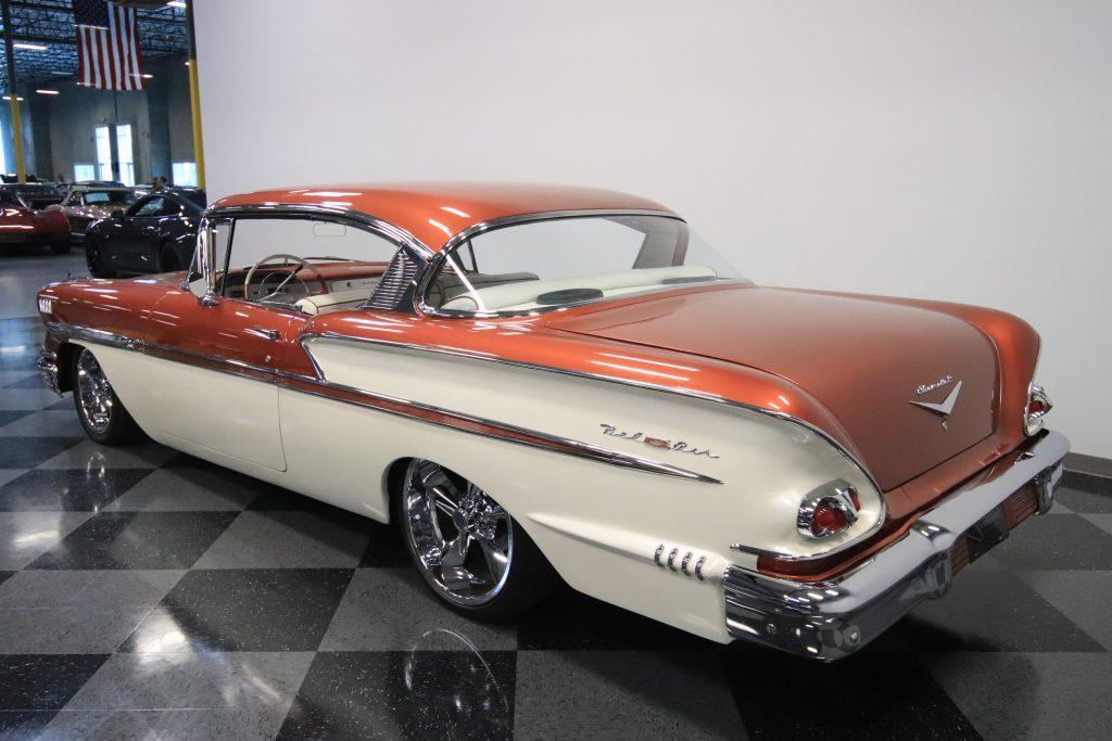 high end restomod 1958 Chevrolet Bel Air/150/210 custom