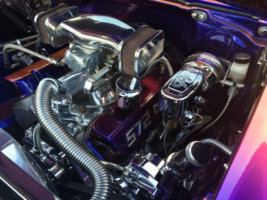 resto mod 1957 Chevrolet 210 custom