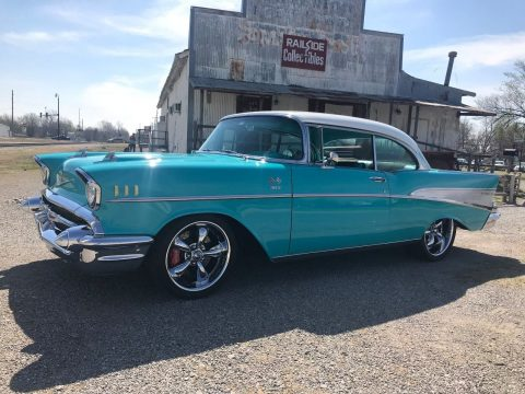 restomod 1957 Chevrolet Bel Air Sport Coupe custom for sale