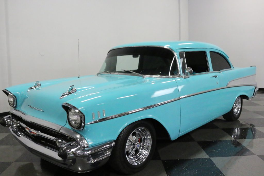 Sharp Looking 1957 Chevrolet 210 custom