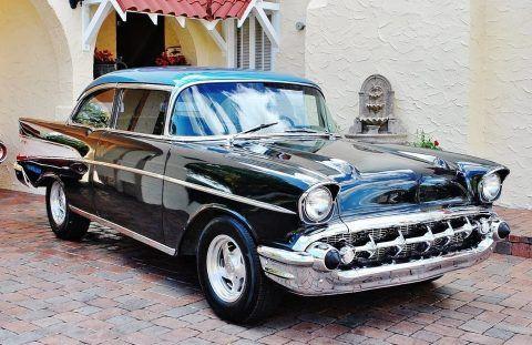 Stunning Restoration 1957 Chevrolet Bel Air digital gauges custom for sale