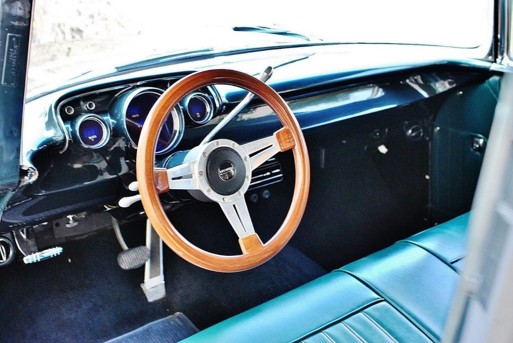 Stunning Restoration 1957 Chevrolet Bel Air digital gauges custom