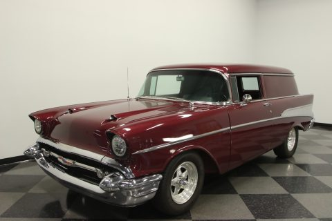 Super Clean & Straight 1957 Chevrolet Sedan Delivery custom for sale