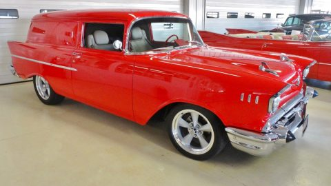 top shape 1957 Chevrolet Sedan Delivery custom for sale