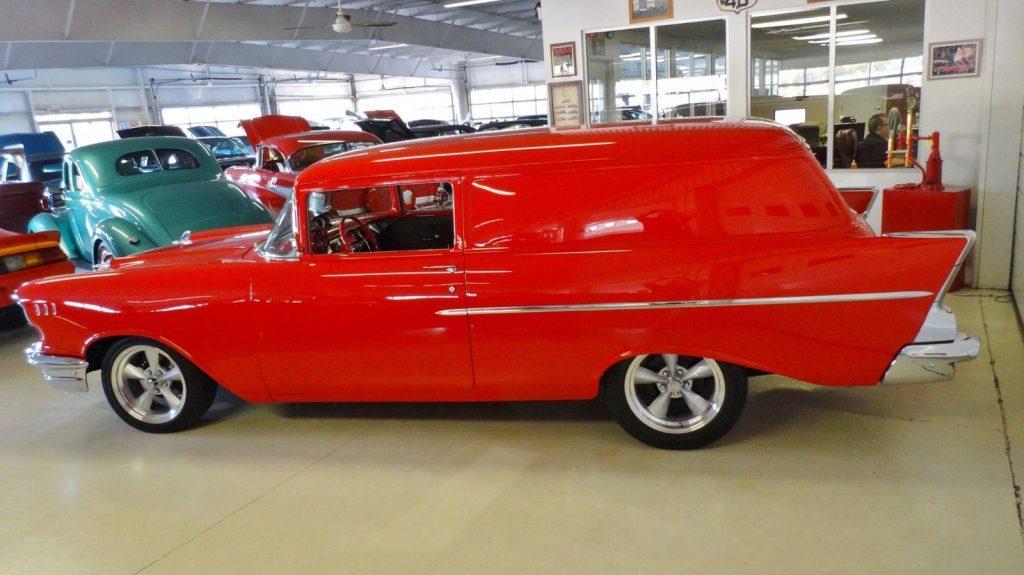 top shape 1957 Chevrolet Sedan Delivery custom