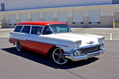 Ultra RARE 1958 Chevrolet Yeoman Wagon custom for sale
