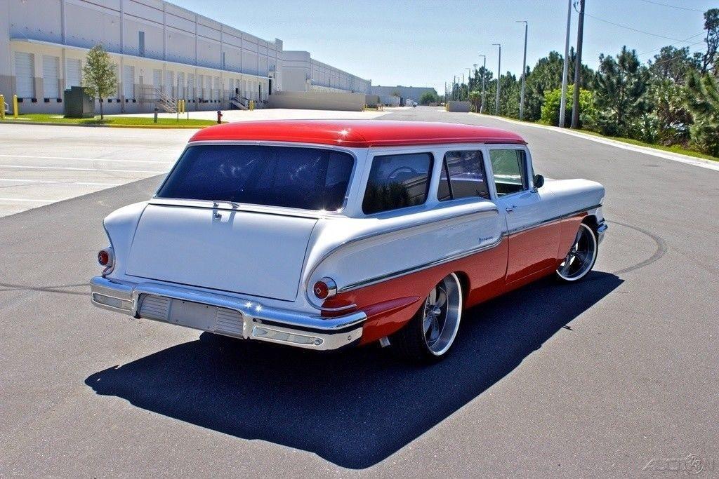 Ultra RARE 1958 Chevrolet Yeoman Wagon custom