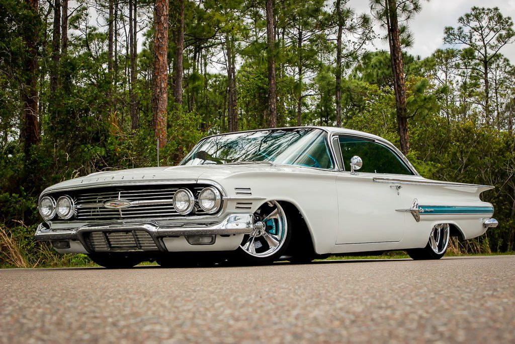 brand new engine 1960 Chevrolet Impala custom