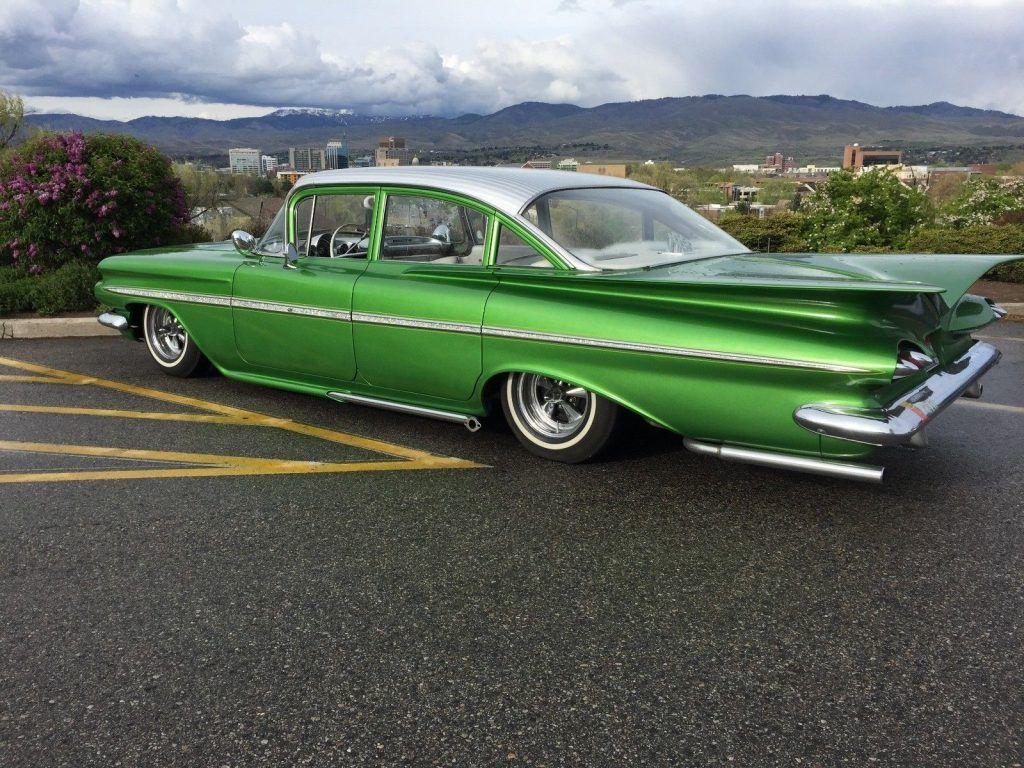 green onion 1959 Chevrolet Bel Air/150/210 custom
