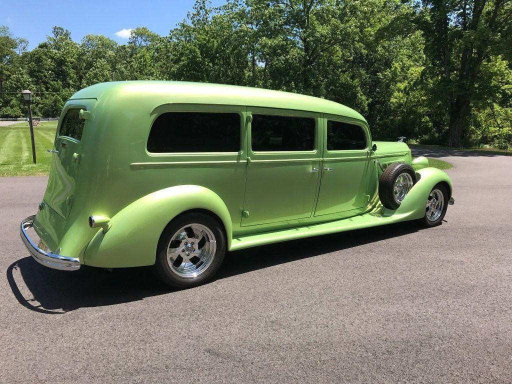rare 1936 Packard Henney Hearse custom