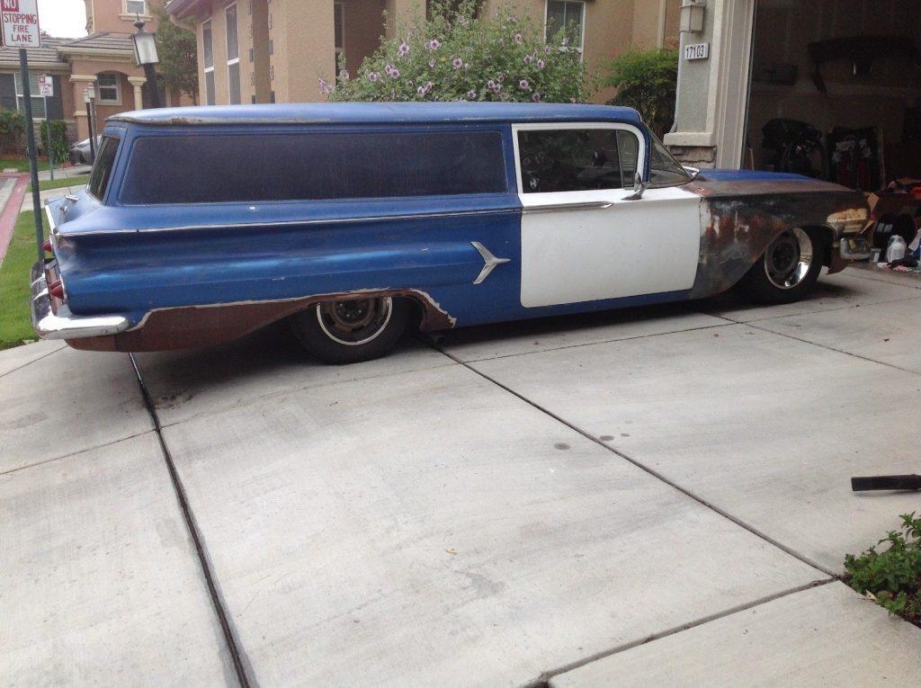 rare 1960 Chevrolet Sedan Delivery custom