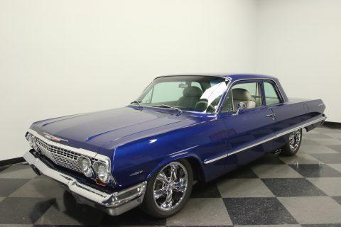 restored restomod 1963 Chevrolet Bel Air custom for sale