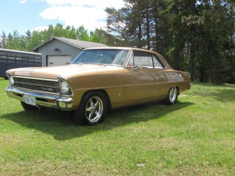 lightly modified 1967 Chevrolet Nova SS custom for sale
