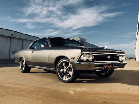 Rotisserie restored 1966 Chevrolet Chevelle SS Tribute custom for sale