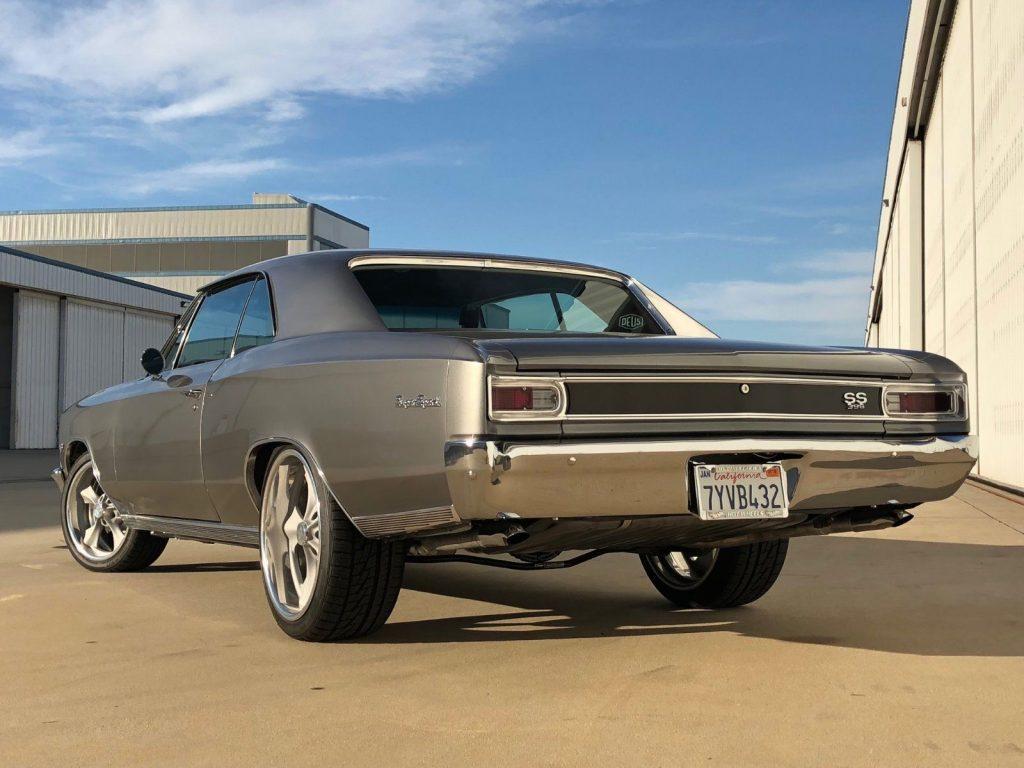 Rotisserie restored 1966 Chevrolet Chevelle SS Tribute custom