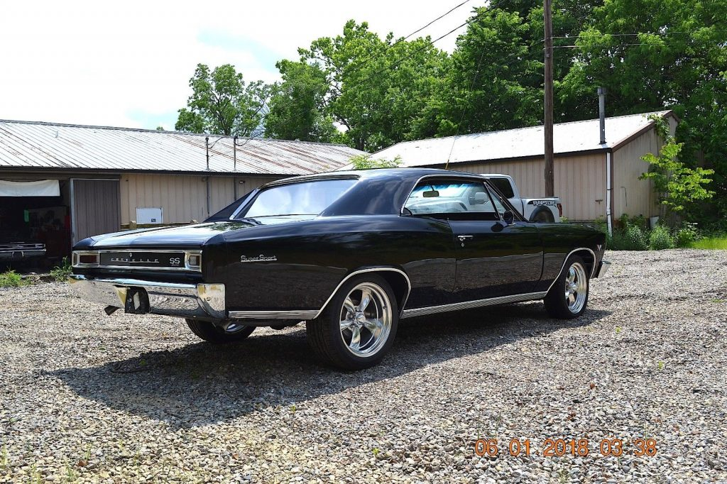 SS 396 Tribute 1966 Chevrolet Chevelle SS BIG Block 4SPD custom