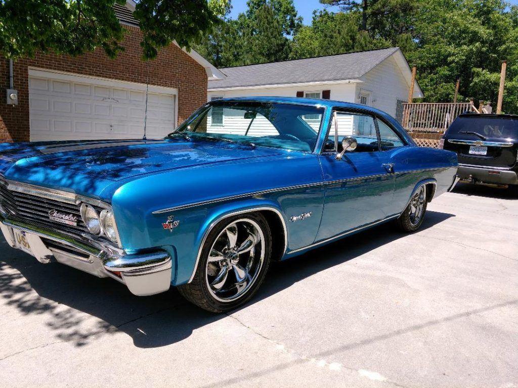 Straight and slick 1966 Chevrolet Impala SS custom