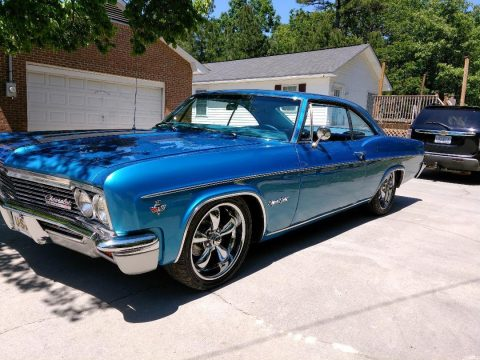 Straight and slick 1966 Chevrolet Impala SS custom for sale