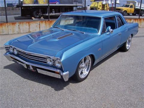 well modified 1967 Chevrolet Chevelle LS3 custom for sale
