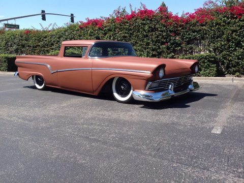 chopped 1957 Ford Ranchero custom for sale