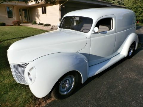 classic panel truck 1940 Ford Sedan delivery custom for sale