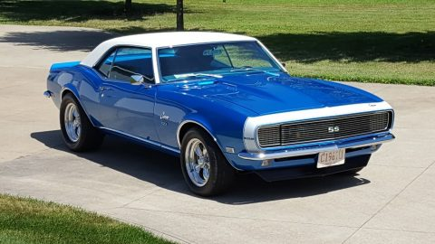 upgraded 1968 Chevrolet Camaro custom for sale