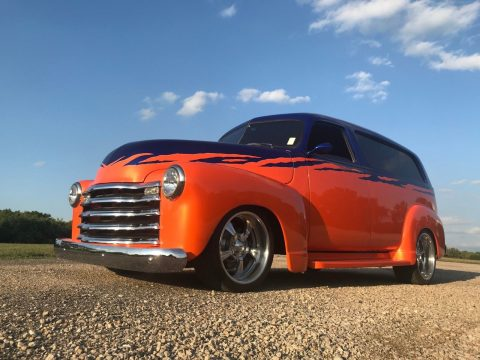 extremely well built 1950 Chevrolet Suburban custom for sale