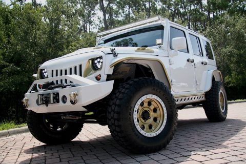 lifted and modified 2016 Jeep Wrangler 4×4 custom for sale