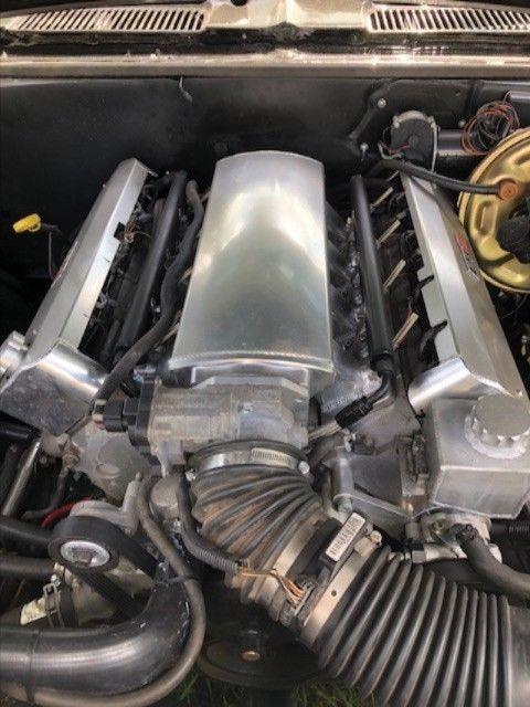 LS1 engine 1969 Chevrolet Camaro RS/SS Convertible custom