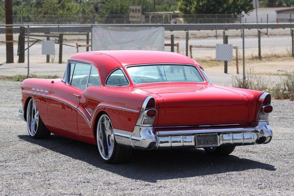 nicely rebuilt 1957 Buick Century custom