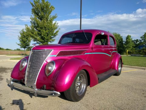 older restoration 1937 Ford Tudor custom for sale