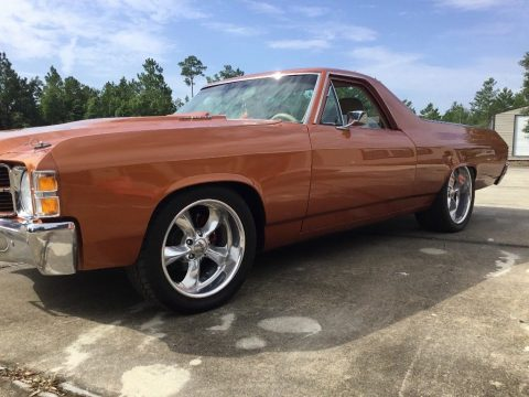 restomod 1971 Chevrolet El Camino custom for sale