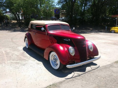 sharp 1937 Ford Roadster custom for sale