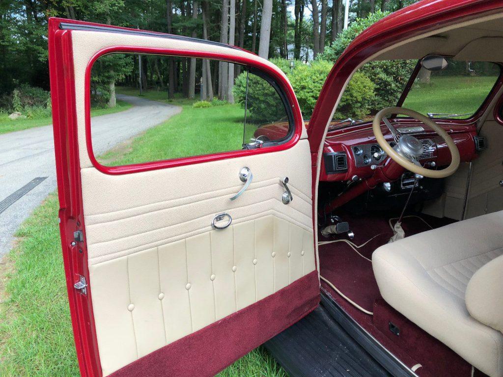awesome 1940 Ford Tudor custom