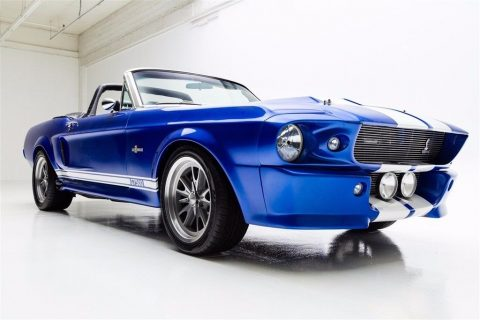 Eleanor 1967 Ford Mustang Convertible custom for sale