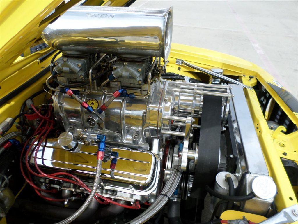 heavily customized 1969 Chevrolet Camaro Rs/ss Pro Tour custom