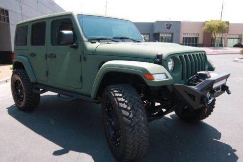 low miles 2018 Jeep Wrangler custom for sale