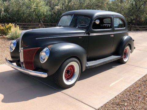 old school 1940 Ford Two Door custom for sale