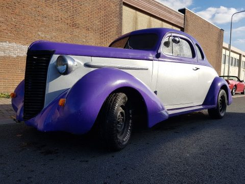 rare 1938 Nash Lafayette Business Coupe Fastback custom for sale