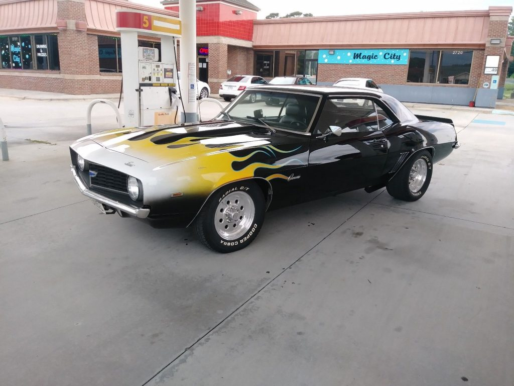 rebuilt engine 1969 Chevrolet Camaro custom