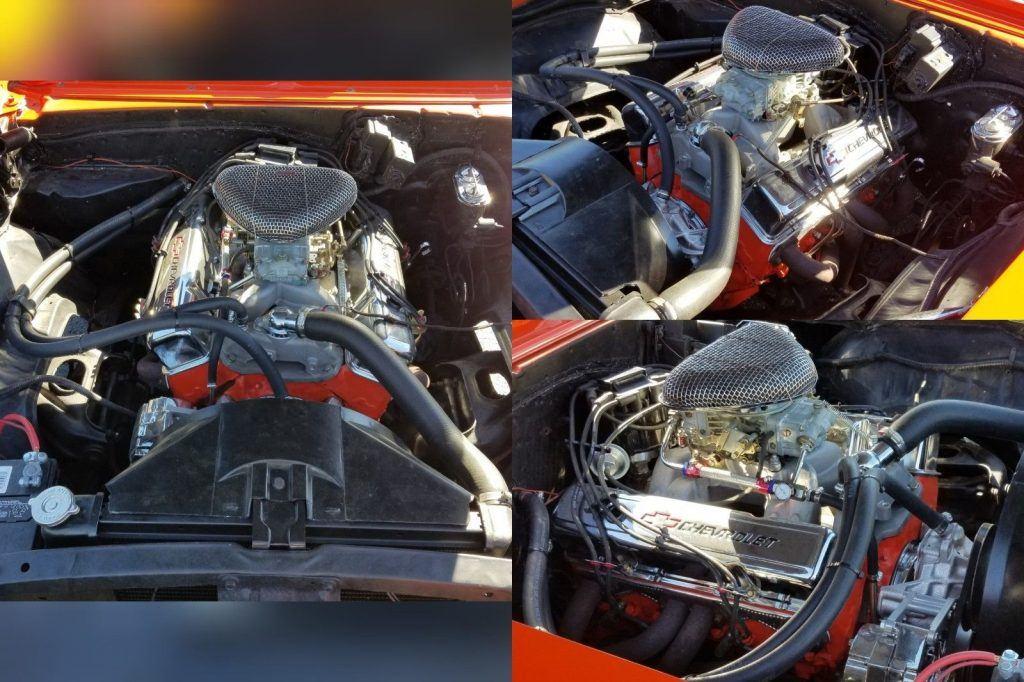 rebuilt engine 1969 Chevrolet Camaro custom