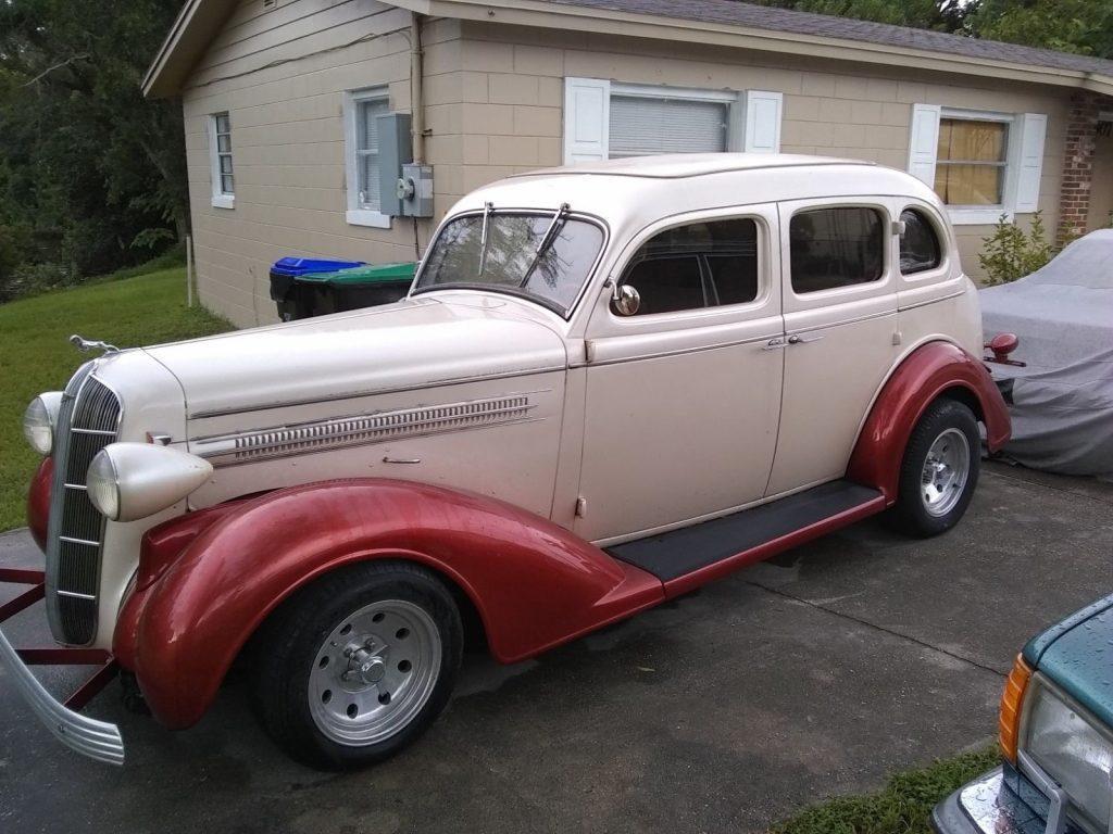restomod 1936 Dodge Sedan custom