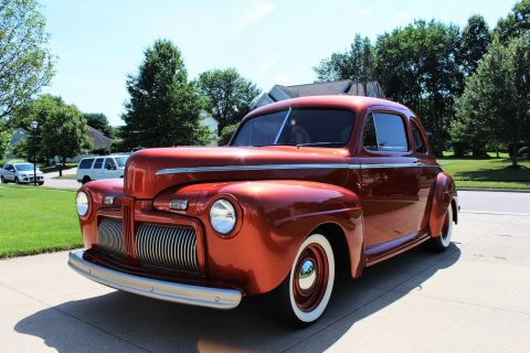restomod 1942 Ford Super Deluxe custom for sale